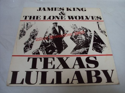 JamesKing&TheLoneWolves TexasLullaby(EP)1